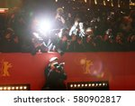 photographers attend the ... | Shutterstock . vector #580902817