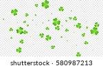 saint patrick's day banner.... | Shutterstock .eps vector #580987213