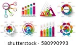 infographic elements data... | Shutterstock .eps vector #580990993