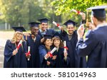 education  graduation ... | Shutterstock . vector #581014963