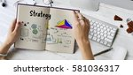 Small photo of Business strategy action success achievement sketch
