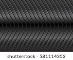 black glossy metal arrows tech... | Shutterstock .eps vector #581114353