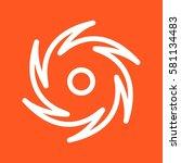 cyclone | Shutterstock .eps vector #581134483