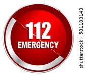 Number Emergency 112 Red Web...