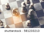 Knight  Chess On Board Busines...