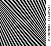 diagonal striped illustration.... | Shutterstock .eps vector #581284267