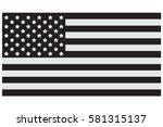 american flag | Shutterstock .eps vector #581315137