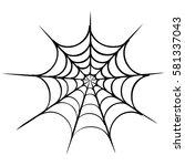 spider | Shutterstock .eps vector #581337043