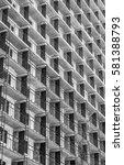 building construction erect... | Shutterstock . vector #581388793