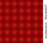 line geometric seamless pattern.... | Shutterstock .eps vector #581460037