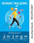 vector illustrated infographics ... | Shutterstock .eps vector #581491087