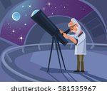 Astronomer Scientist Character...
