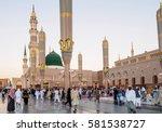 medina  saudi arabia   february ...   Shutterstock . vector #581538727