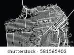 san francisco vector city map   Shutterstock .eps vector #581565403