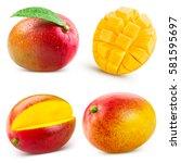 Mango Fruit Collection Isolate...
