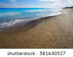 el saler beach in valencia...   Shutterstock . vector #581630527