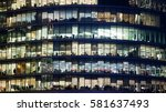 business office  corporate... | Shutterstock . vector #581637493