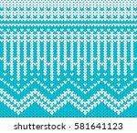 christmas and new year design... | Shutterstock .eps vector #581641123