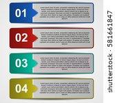 template for web design.... | Shutterstock .eps vector #581661847