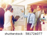 people  planning and strategy... | Shutterstock . vector #581726077