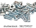 bolts and nuts. | Shutterstock . vector #581759527