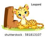 wooden textured bold font... | Shutterstock .eps vector #581813107