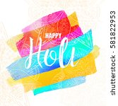 flyer  banner  card or pamphlet ... | Shutterstock .eps vector #581822953