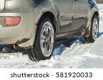 dirty car  | Shutterstock . vector #581920033