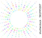colorful white background with...   Shutterstock .eps vector #581995207