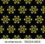 modern geometric seamless... | Shutterstock . vector #582041803