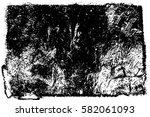 grunge black and white urban... | Shutterstock .eps vector #582061093