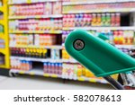 Supermarket Shelves With...