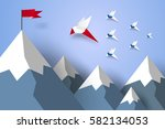 business concept   go to... | Shutterstock .eps vector #582134053