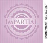impartial pink emblem   Shutterstock .eps vector #582162307