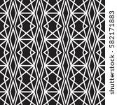 geometric seamless background... | Shutterstock .eps vector #582171883