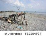 Beach Art Sculpture Or Shelter...
