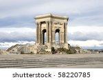 water castel in montpelier | Shutterstock . vector #58220785