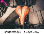 bicycle saddle | Shutterstock . vector #582262267