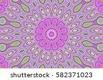 modern floral pattern.... | Shutterstock . vector #582371023