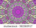 modern floral pattern.... | Shutterstock . vector #582383917