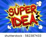 super idea   comic book style...