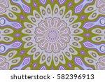 modern floral pattern.... | Shutterstock . vector #582396913
