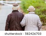 Photo Of Elderly Couple Walkin...