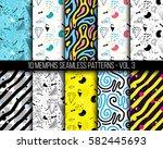 10 universal different... | Shutterstock .eps vector #582445693