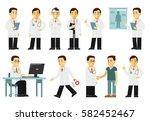 medicine people character set... | Shutterstock .eps vector #582452467