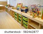 montessori material ...   Shutterstock . vector #582462877