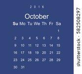 calendar icon vector flat...   Shutterstock .eps vector #582508297