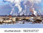 environmental problem of... | Shutterstock . vector #582510727