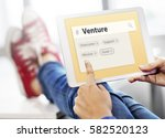 improvement business venture... | Shutterstock . vector #582520123