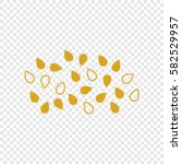 icon  of oil seeds. vector.... | Shutterstock .eps vector #582529957